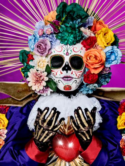 Catrina es uno de los 16 personajes de '¿Quién es la Máscara?'. Vive en lo más oculto de Xochimilco. Es misteriosa y muy mexicana.