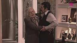 Revive el divertido reencuentro entre Don Arnoldo y su hijo Plácido