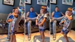 'El Tuberito', el niño que enamoró al tocar con su tuba 'El Toro Mambo'