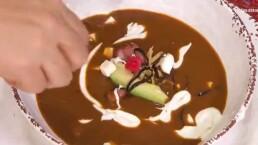 Receta: Sopa de frijol con tocino