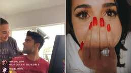 Mira la emoción de Demi Lovato y su novio, Max Ehrich, al presumir que están comprometidos