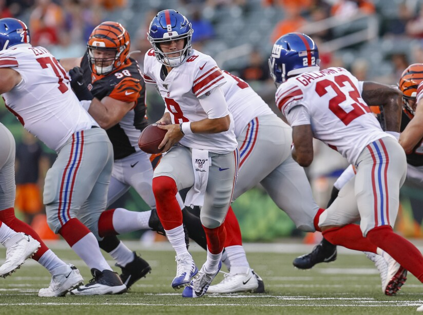 New York Giants v Cincinnati Bengals