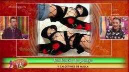 MODA: Tendencia de pantys y calcetines de red
