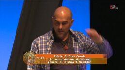 Héctor Suárez Gomiz estrena obra teatral