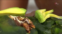 Cocina Chef Oropeza Chiles rellenos de cecina
