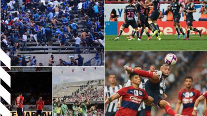 Estas son las mejores imágenes en la pasada Fecha 14 del futbol mexicano.