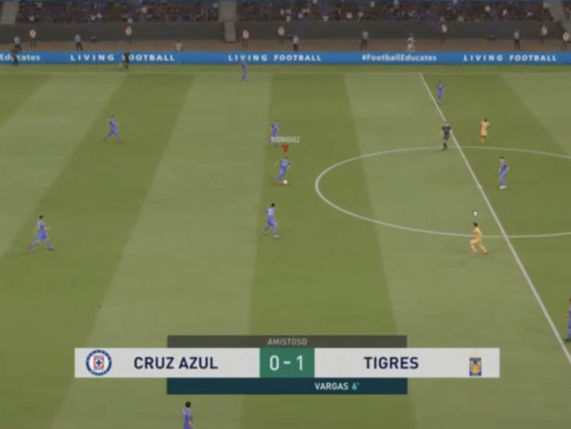 eLiga MX, Cruz Azul vs Tigres, 6.png