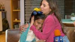 Sueños cumplidos: Paulina Goto cumple el deseo de su fan número uno