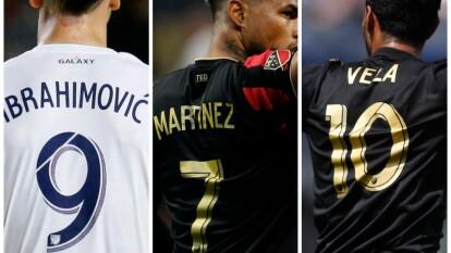 Por segundo año consecutivo, Ibra es el que más camisetas vende en la MLS.