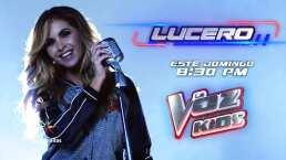 Lucero es coach en 'La Voz Kids'