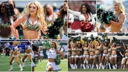 Las Cheerleaders se roban las miradas y los suspiros de los aficionados en la Semana 1 de la NFL.