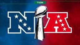 Los títulos de Super Bowl por Conferencia