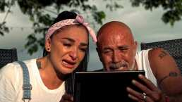 ¡Mis hijas me dan fortaleza! Wanders y Radamés lloran en emotiva llamada
