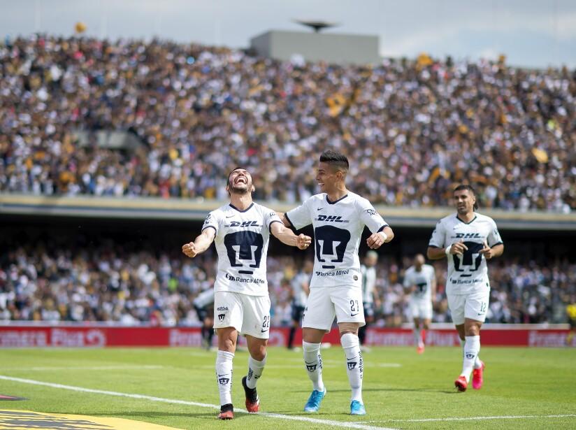 Pumas, líder del Clausura 2020 en la Jornada tres