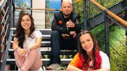 """Antes de estar al frente del programa """"Hoy"""", Andrea Legarreta participó en Telehit"""
