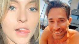 """""""Quisiera ser tu hambre para darte ..."""": Angelique Boyer sonroja a Sebastián Rulli con picantes piropos"""