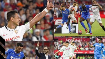 Con esta victoria por 2-0 ante el Getafe, el Sevilla se coloca quinto en la tabla de La Liga española.