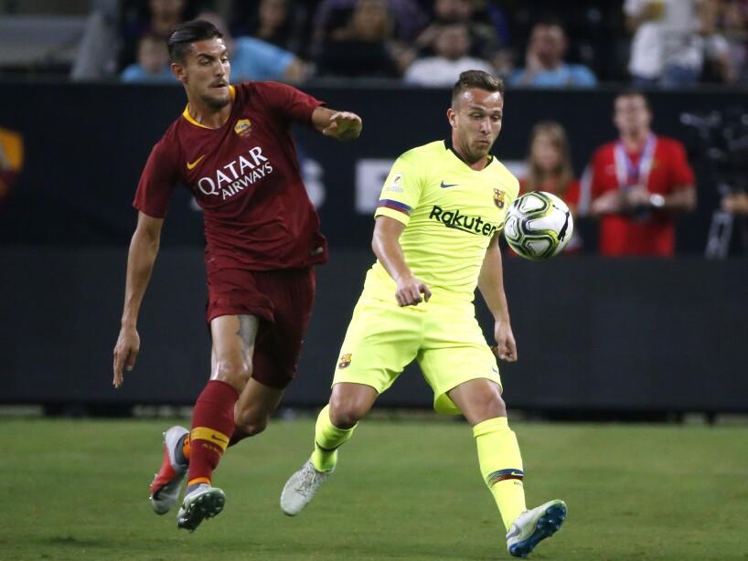 Barcelona Roma Soccer