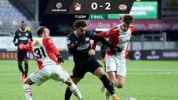 ¡Guti, Guti, Guti! El mexicano juega en el triunfo del PSV