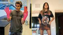 """Así reaccionó Roberta, la hija de Raúl Araiza, cuando fue grabada por su papá: """"Tengo chongo"""""""