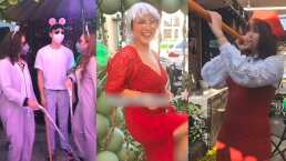 Esta chica armó su fiesta con temática de Shrek y cada invitado fue un personaje de la película