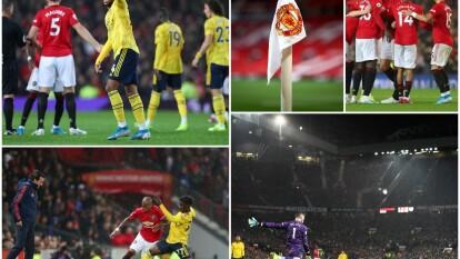 Manchester United y Arsenal protagonizaron uno de los juegos más atractivos en la Jornada 7 del futbol inglés.
