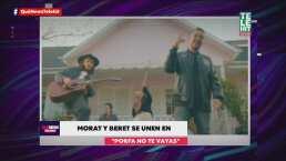 Morat y Beret lanzan su colaboración para que dediques 'Porfa no te vayas'