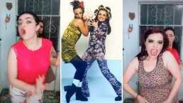 A Violeta Isfel se le 'afloró la naquez' y lo demuestra bailando con su hermana al ritmo Nacasia y Nacaranda