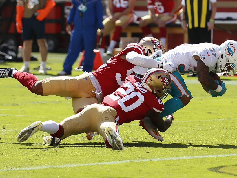 Dolphins 49ers Football