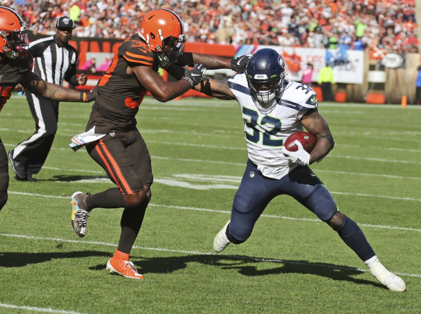 Seahawks Browns Football