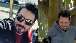 A José Eduardo Derbez lo atacó un perro policía y por poco no la libra