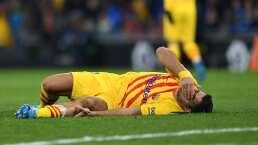 Luis Suárez da más malas noticias al Barcelona