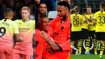 El Borussia empató 2-2 con el Werder Bremen, El Paris olvió a ser salvado por Neymar en el 0-1 sobre el Bordeoux y El Manchester City caminó en su victoria 1-3 sobre el Everton.