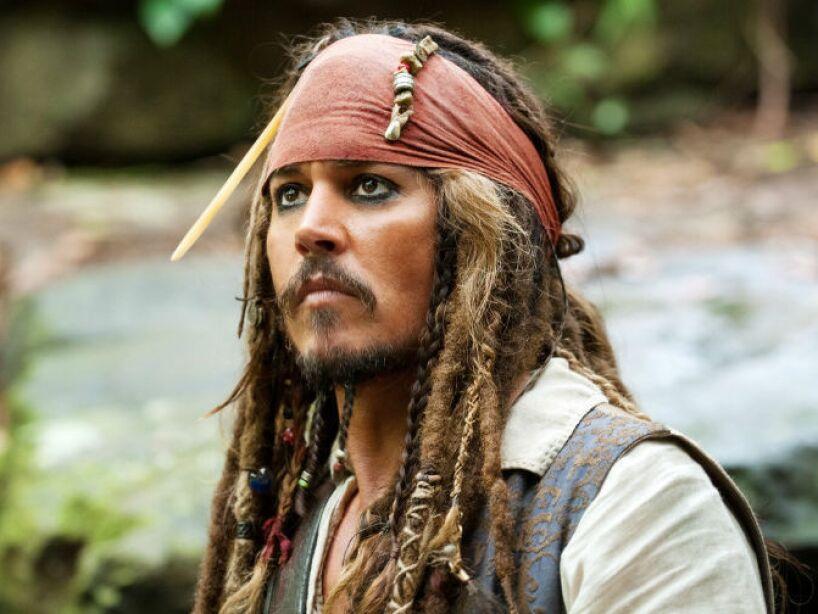 3. Pirates of the Caribbean (2003): En el 2003, Depp interpretó al pirata Jack Sparrow, el primero en otorgarle una nominación al Oscar.