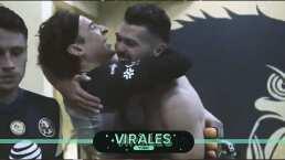 ¡Emotivo! El abrazo entre Ochoa y Henry Martin