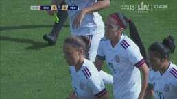 ¡Otro más para México! Renae Cuéllar hace el 4-0 de México