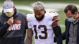 ¡Odell Beckham se pierde el resto de la temporada de la NFL por lesión!