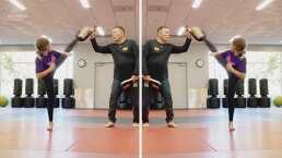 Channah Zeitung batalla el bullying a través de las artes marciales