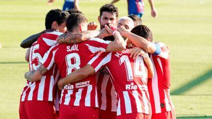 El Atlético sufrió de más, pero consiguió llevarse los tres puntos con un autogol de Bruno González.