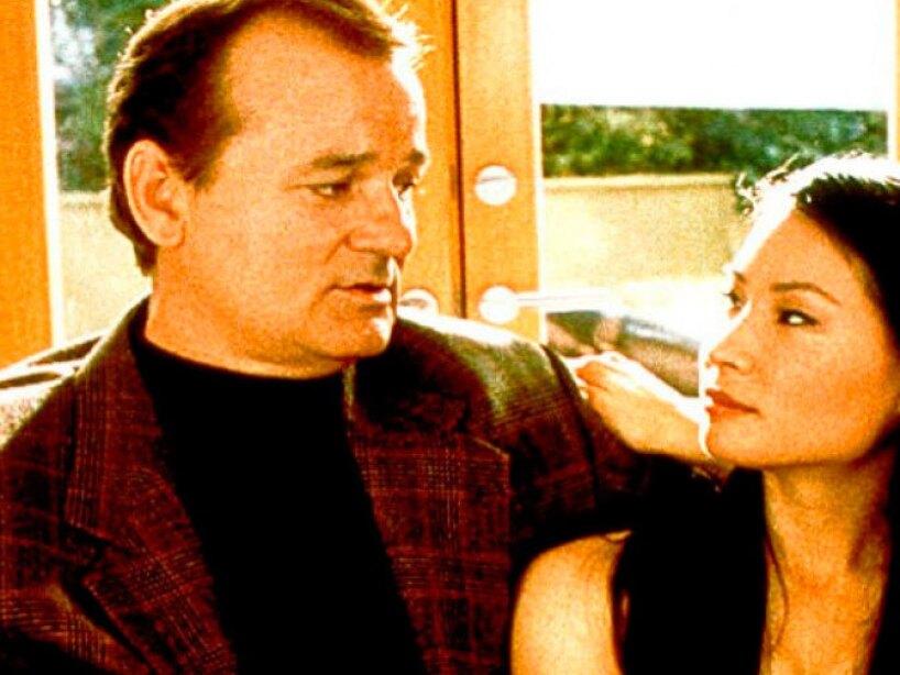 Para Bill Murray no era muy agradable sentarse al lado de Lucy Liu en Los Ángeles de Charlie.