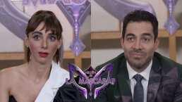 Omar Chaparro y Natalia Téllez están en aprietos al recordar lo mejor de ¿Quién es la Máscara? 2019