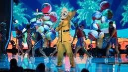 Banana canta 'Banana (Por un Maní)' y hace un batido en el escenario de ¿Quién es la Máscara? 2020