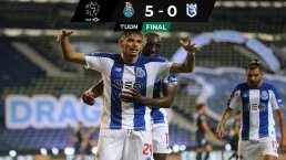 El Porto golea con buena actuación del Tecatito Corona