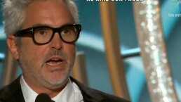 Alfonso Cuarón, orgulloso de las nominaciones de Yalitza y Marina