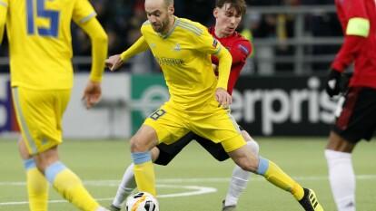 Es un triunfo histórico para el equipo del Astana con dos goles a uno contra la jóven plantilla del Manchester United, y logra sumar sus tres primeros puntos en la Europa League.