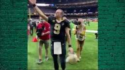 ¿Es un adiós? Así se despidió Drew Brees del estadio de Saints