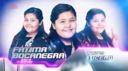 Fátima Bocanegra canta 'Basta ya' en la semifinal de La Voz Kids