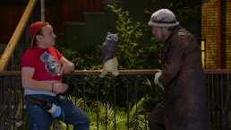 Estos fueron los métodos de Germán para acabar con la plaga de palomas en 'Vecinos'