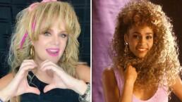 Erika Buenfil revive los años 80 'cantando' a todo pulmón tema de Whitney Houston