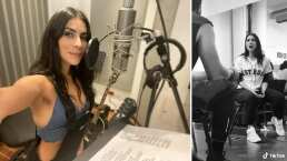 María León está lista para 'Hoy No Me Puedo Levantar' y enamora al cantar éxito de Mecano